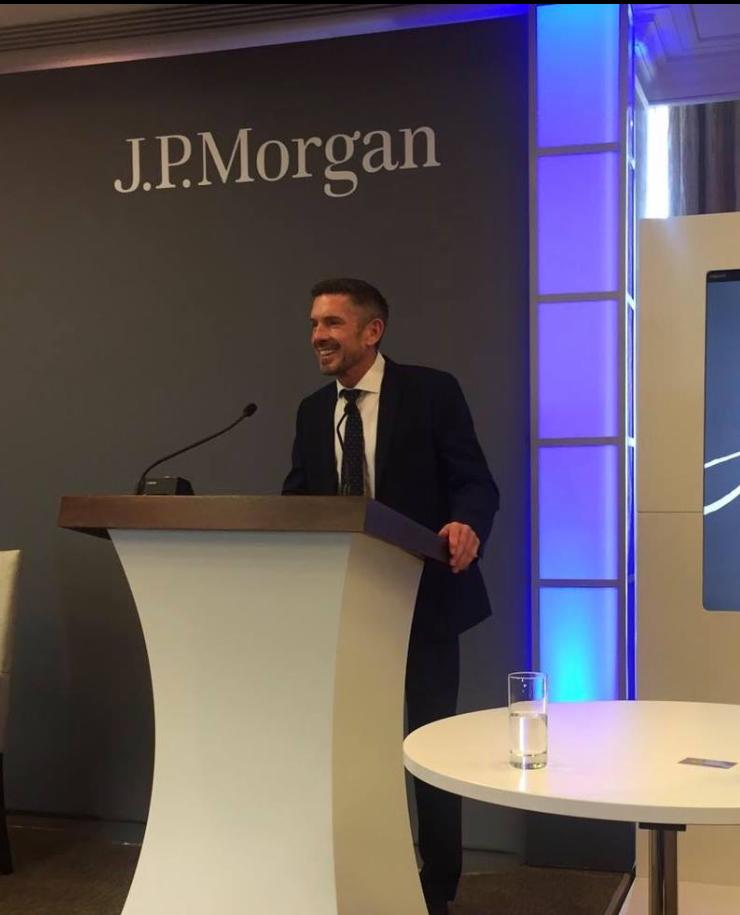 J.P Morgan talk