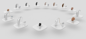 hearing aid in all colours